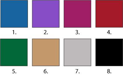 La paleta del invierno cu les son los colores que for Cuales son los colores minimalistas