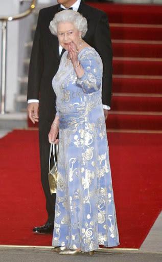 Vestidos de noche en la boda Real, la recepción de la víspera   Moda ...