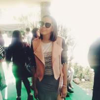 Una fashion blogger