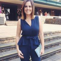 Vivian, una personalidad de la tv Paraguaya.