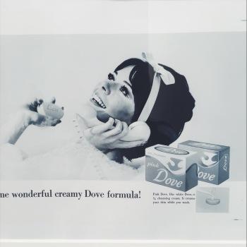 La imagen de la mujer Dove.